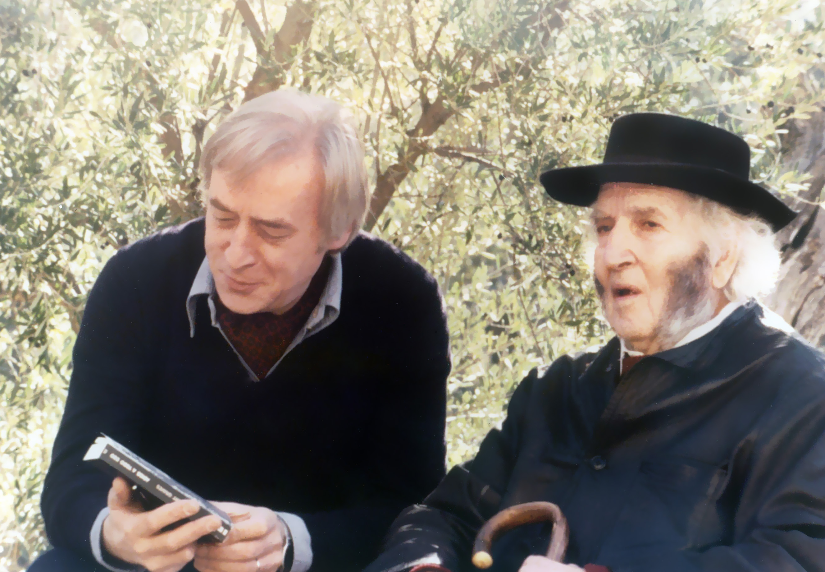con Anthony Burgess